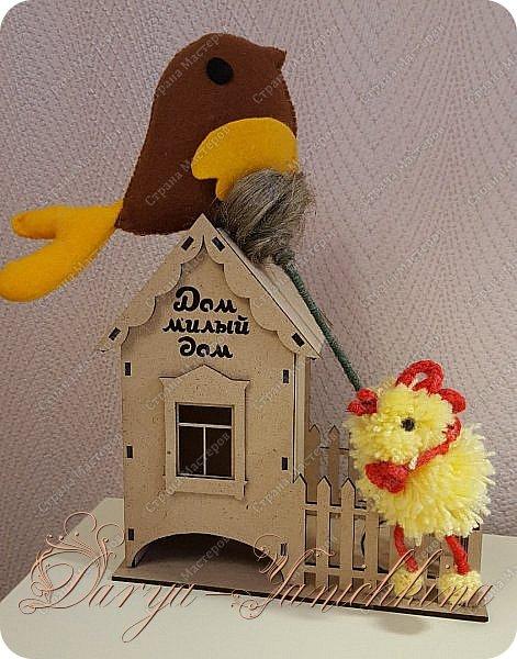птичка и цыпленок фото 1