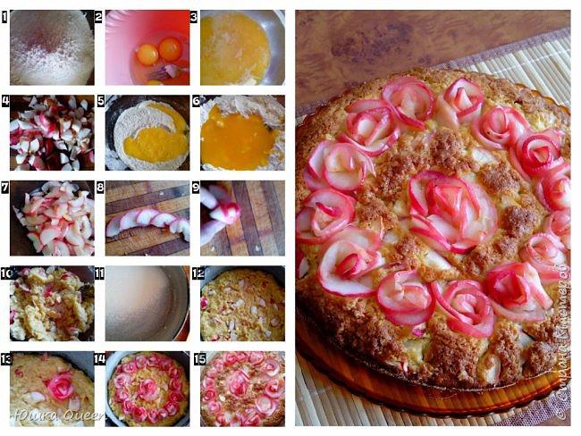 Шарлотка по рецепту моей мамы. фото 2