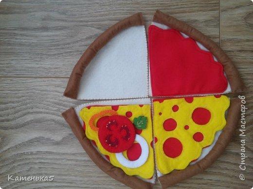 Фетровая еда для дочки фото 2