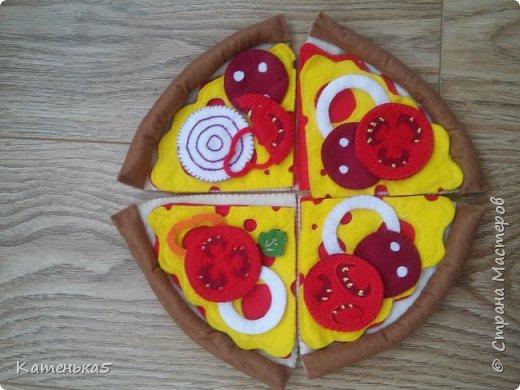 Фетровая еда для дочки фото 1