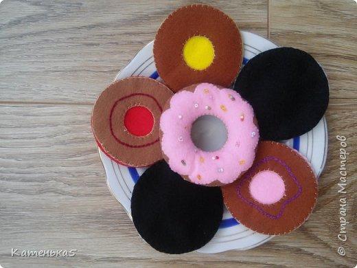Фетровая еда для дочки фото 3