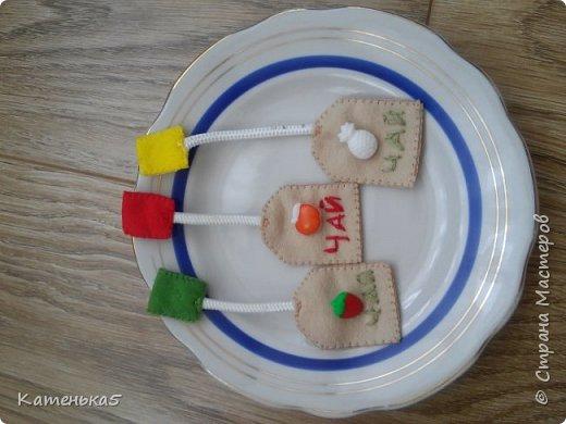 Фетровая еда для дочки фото 5