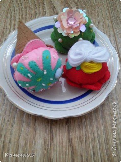 Фетровая еда для дочки фото 7