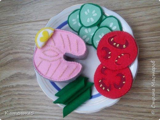 Фетровая еда для дочки фото 9