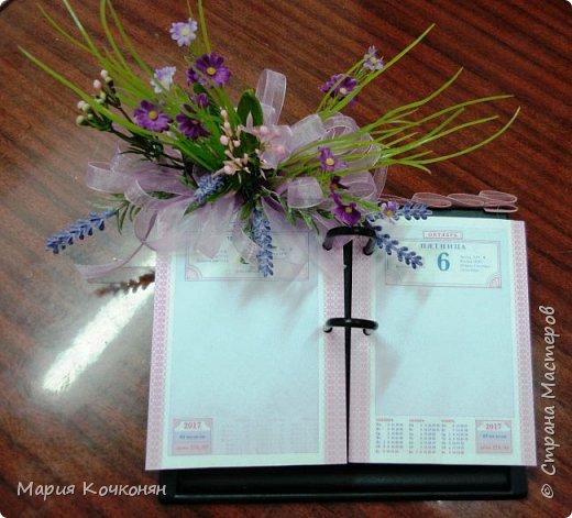 Декор ежедневников и настольных календарей. фото 6