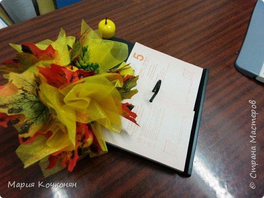 Декор ежедневников и настольных календарей. фото 7