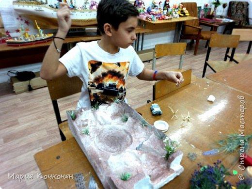 Ещё один макет который делали вместе с сыном..... фото 3