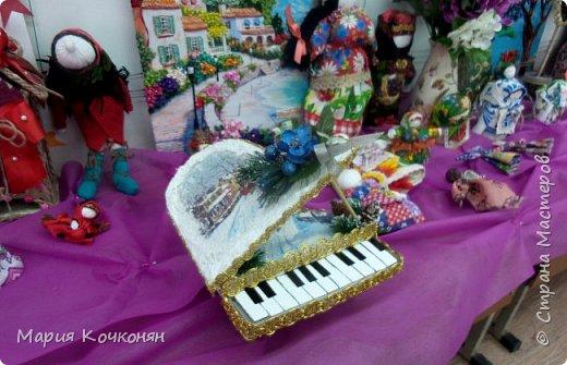Музыкальные инструменты из картона,делала вместе с сыном и средней дочкой! фото 2