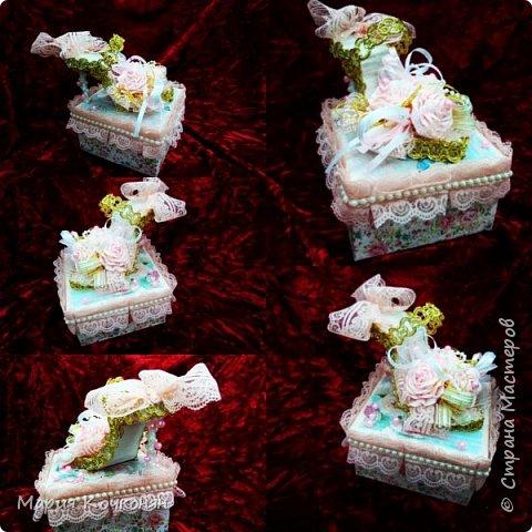 Оформление коробки под конфетки..... фото 2