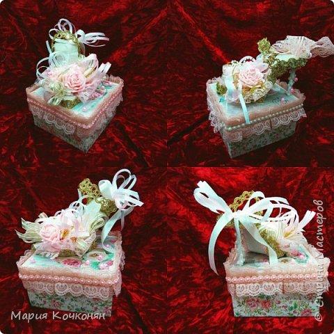 Оформление коробки под конфетки..... фото 3