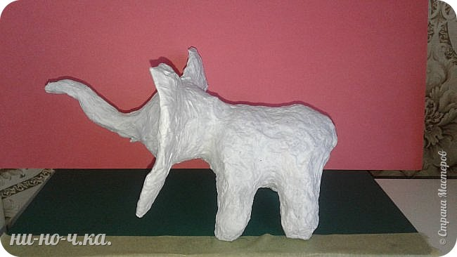 """Мой слоник в стиле """"А-ля Гжель"""". фото 4"""