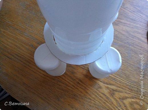 Представляю вашему вниманию макет ракеты ко Дню Космонавтики, которая будет украшением тематической выставки в детском саду или радовать глаз в домашней обстановке. фото 5
