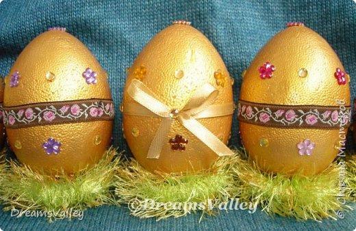 Мой вариант пасхальных яиц. В живую выглядят симпатичнее. фото 2