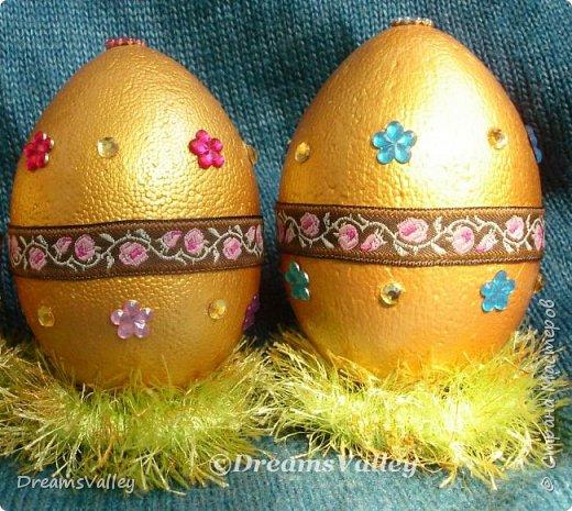 Мой вариант пасхальных яиц. В живую выглядят симпатичнее. фото 3