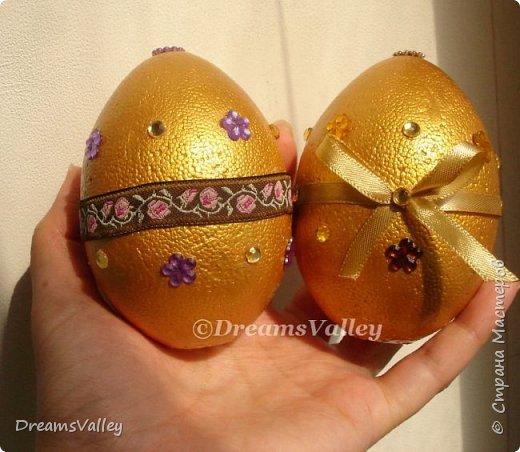 Мой вариант пасхальных яиц. В живую выглядят симпатичнее. фото 4