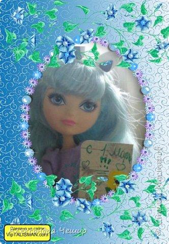 Здравствуйте, уважаемая Страна Мастеров!  Я хочу подарить подарки мастерицам, поэтому размещу в Кукольную Жизнь.  Элисон фон дер Ланд фото 9