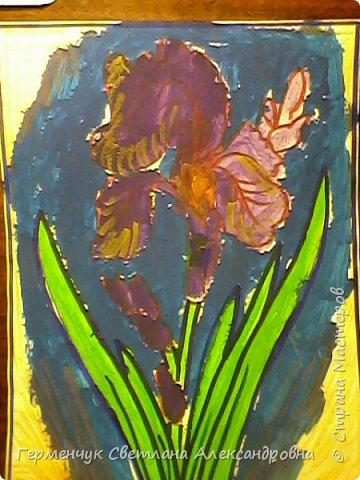 "Раскраски  ""Цветы . Весна""  ребят 4 ""В"" класса (взяты из Интернета) фото 2"