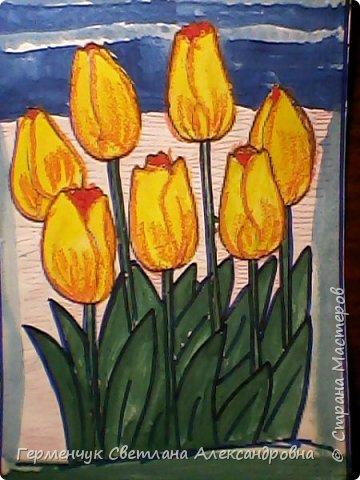 "Раскраски  ""Цветы . Весна""  ребят 4 ""В"" класса (взяты из Интернета) фото 3"