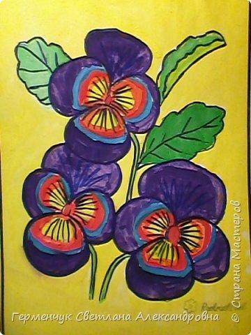 "Раскраски  ""Цветы . Весна""  ребят 4 ""В"" класса (взяты из Интернета) фото 1"