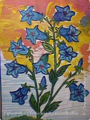 "Раскраски  ""Цветы . Весна""  ребят 4 ""В"" класса (взяты из Интернета) фото 5"