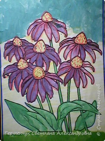 "Раскраски  ""Цветы . Весна""  ребят 4 ""В"" класса (взяты из Интернета) фото 9"