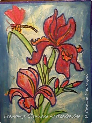"Раскраски  ""Цветы . Весна""  ребят 4 ""В"" класса (взяты из Интернета) фото 13"