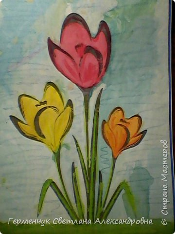"Раскраски  ""Цветы . Весна""  ребят 4 ""В"" класса (взяты из Интернета) фото 17"
