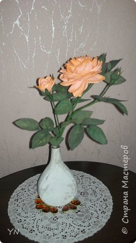 роза из фома фото 2