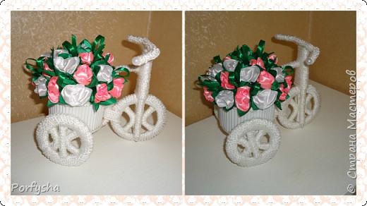 Велосипед-кашпо!