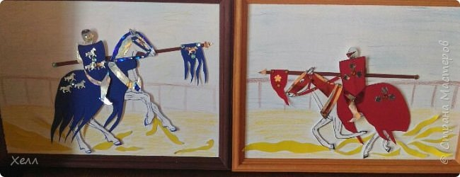 Такие вот 2 картины формата А4 каждая, я преподнесла в подарок любимому дяде.  Красуются у него в серванте и охраняются тетушкин фарфор) фото 4