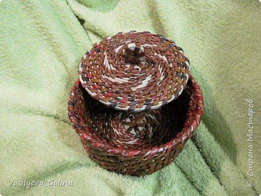 всем соседям привет... вот и меня захватило такой вид плетения... что получилось судить вам.. фото 6