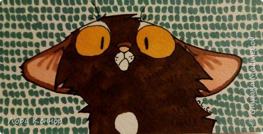 Январь Это коммишен (заказ за деньги) Если окрасы кошек вам покажутся странными, то не пугайтесь - сейчас стало популярным придумывать собственных персонажей. Они могут быть копией своего хозяина в образе какого-либо существа или частью какой-то вселенной, своей или популярного фэндома. фото 8