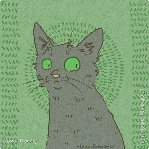 Январь Это коммишен (заказ за деньги) Если окрасы кошек вам покажутся странными, то не пугайтесь - сейчас стало популярным придумывать собственных персонажей. Они могут быть копией своего хозяина в образе какого-либо существа или частью какой-то вселенной, своей или популярного фэндома. фото 23