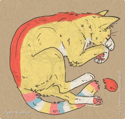 Январь Это коммишен (заказ за деньги) Если окрасы кошек вам покажутся странными, то не пугайтесь - сейчас стало популярным придумывать собственных персонажей. Они могут быть копией своего хозяина в образе какого-либо существа или частью какой-то вселенной, своей или популярного фэндома. фото 24
