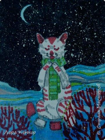 Январь Это коммишен (заказ за деньги) Если окрасы кошек вам покажутся странными, то не пугайтесь - сейчас стало популярным придумывать собственных персонажей. Они могут быть копией своего хозяина в образе какого-либо существа или частью какой-то вселенной, своей или популярного фэндома. фото 21