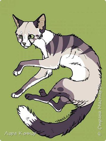 Январь Это коммишен (заказ за деньги) Если окрасы кошек вам покажутся странными, то не пугайтесь - сейчас стало популярным придумывать собственных персонажей. Они могут быть копией своего хозяина в образе какого-либо существа или частью какой-то вселенной, своей или популярного фэндома. фото 6
