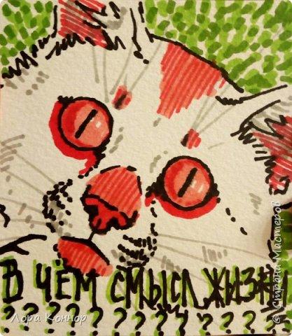 Январь Это коммишен (заказ за деньги) Если окрасы кошек вам покажутся странными, то не пугайтесь - сейчас стало популярным придумывать собственных персонажей. Они могут быть копией своего хозяина в образе какого-либо существа или частью какой-то вселенной, своей или популярного фэндома. фото 10