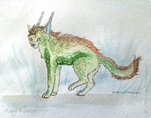Январь Это коммишен (заказ за деньги) Если окрасы кошек вам покажутся странными, то не пугайтесь - сейчас стало популярным придумывать собственных персонажей. Они могут быть копией своего хозяина в образе какого-либо существа или частью какой-то вселенной, своей или популярного фэндома. фото 12