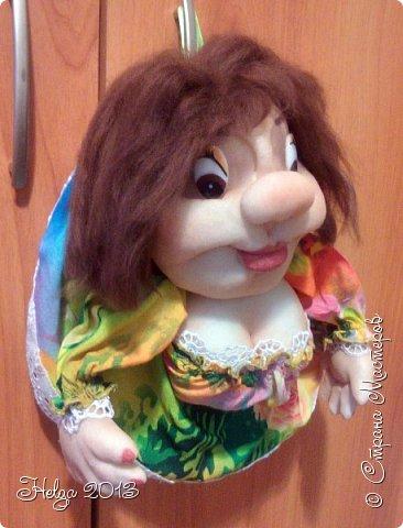 """Попросили сшить куклу-попика, первая моя """"экспериментальная"""", есть косячки, буду если шить следующую постараюсь учесть. фото 4"""