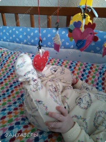 В нашей семье родился замечательный мальчишка. Вот именно для него и переделывали мобиль. фото 8