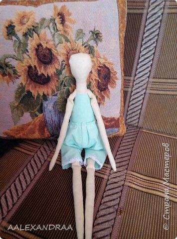 Всем привет!!! Вот моя кукляша,думала думала и надумала.... фото 5