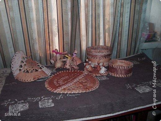 птица счастья слева, хоровод куколок, подставка и туески фото 1