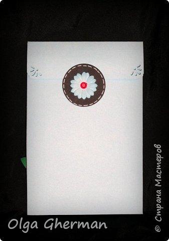 """Обратилась ко мне на днях знакомая насчет открытки... Ей нужна открытка для мужчины на 50-летие.  И тут я поняла, что в этом направлении у меня пробел... В наличии """"мужской"""" тематики у меня были только пиджаки.  http://stranamasterov.ru/node/1075030  Вот так , благодаря этому случаю, создались еще 2 открытки-стойки в мужском стиле. фото 9"""