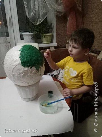 Вот  теперь наш шар (Поляна цветов ) полностью готова . фото 3