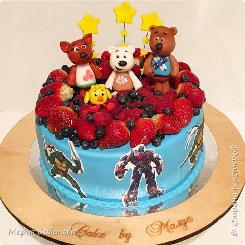 Тортик щенячий патруль фото 7