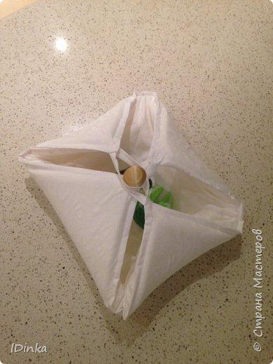 """Вот такую развивающую игрушку """"Пирог"""" я смастерила для своей двухлетней дочки за 5 мин. фото 1"""