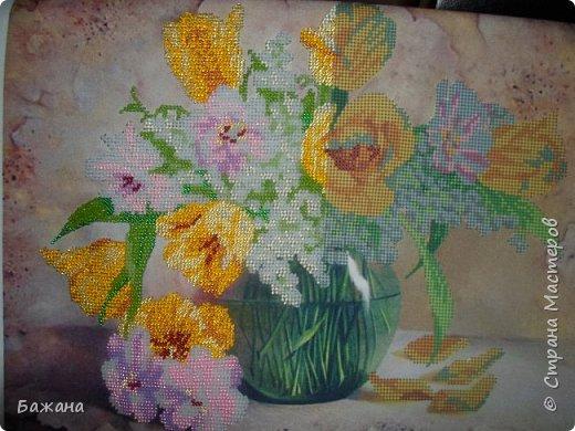 Весенний букет для моей второй мамы)))) фото 10
