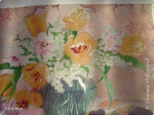 Весенний букет для моей второй мамы)))) фото 6