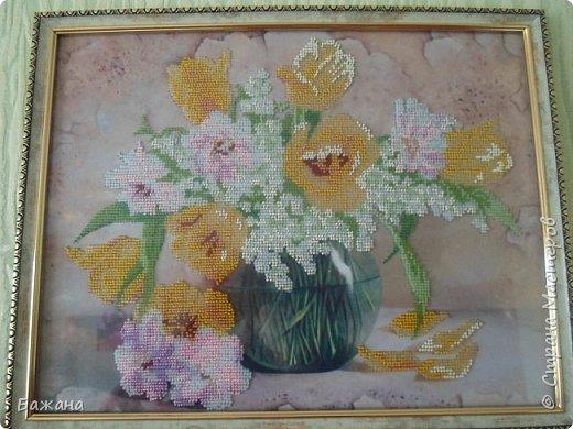Весенний букет для моей второй мамы)))) фото 4