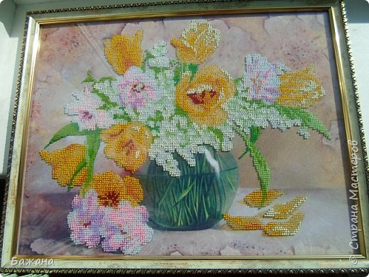 Весенний букет для моей второй мамы)))) фото 3
